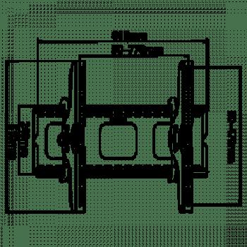 SS-1004 fali TV tartó konzol (dönthető)