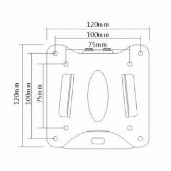 LCD FN-203 tartó konzol