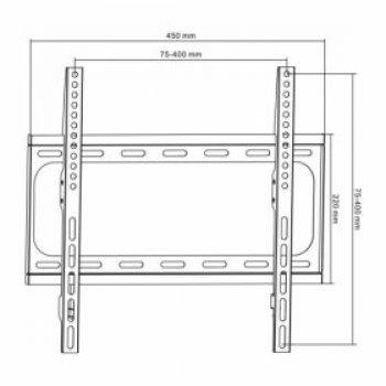 HS-0151 TV tartó