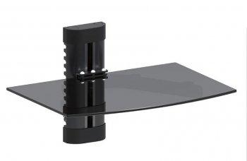MC-663 fali TV alatti polc fekete