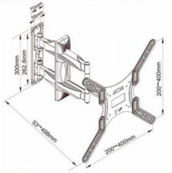 Northbay SP-400 pozicionálható TV tartó
